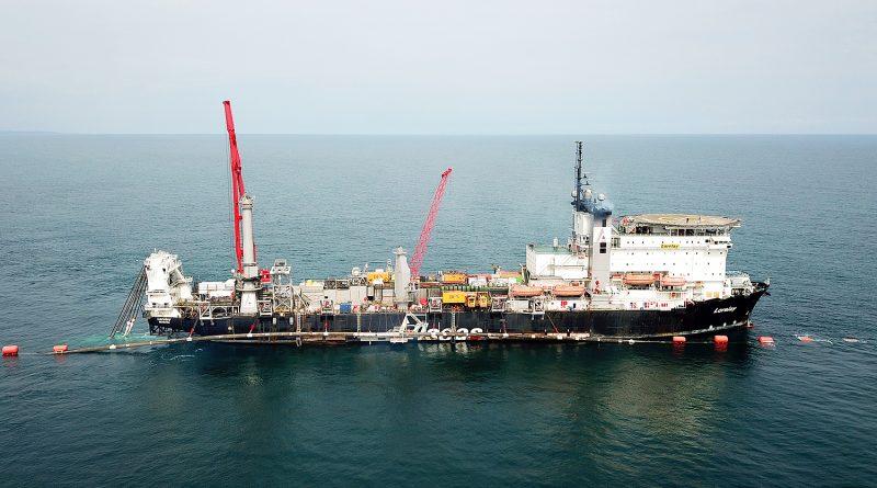 TürkAkım Karadeniz'deki boru hattı sistemini bütünüyle tamamlandı
