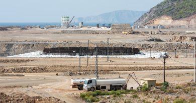 Akkuyu NGS'ye ait 1'inci güç ünitesinin temel plakasının beton dökme çalışmaları  tamamlandı